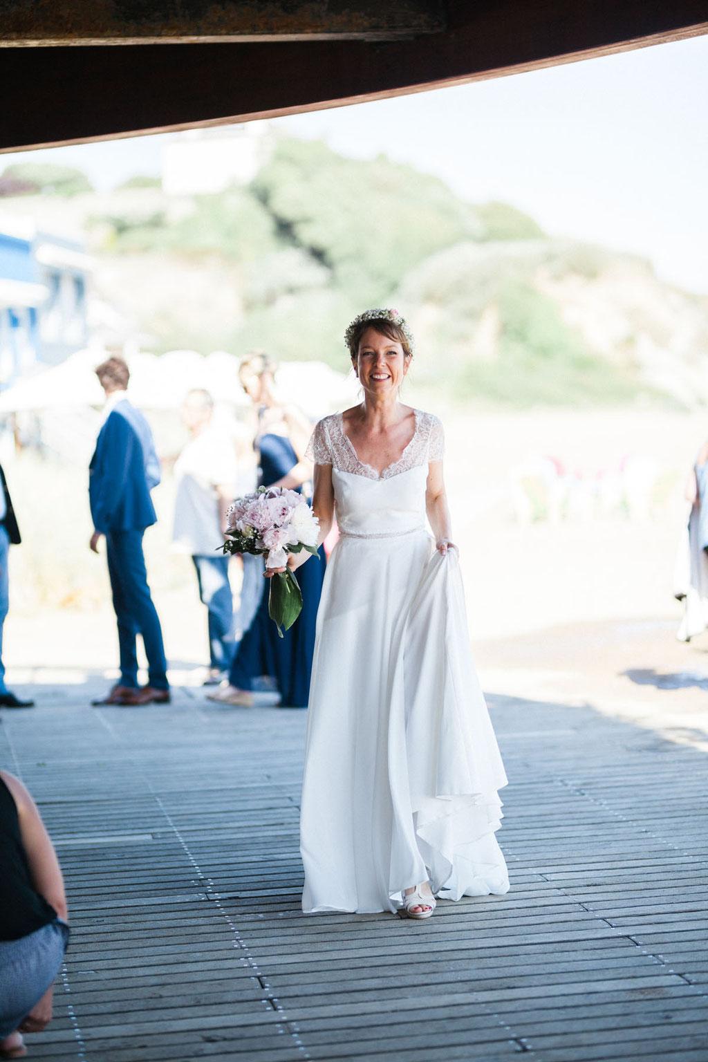 Photographe mariage nantes plage de monsieur hulot orlane-photos.com