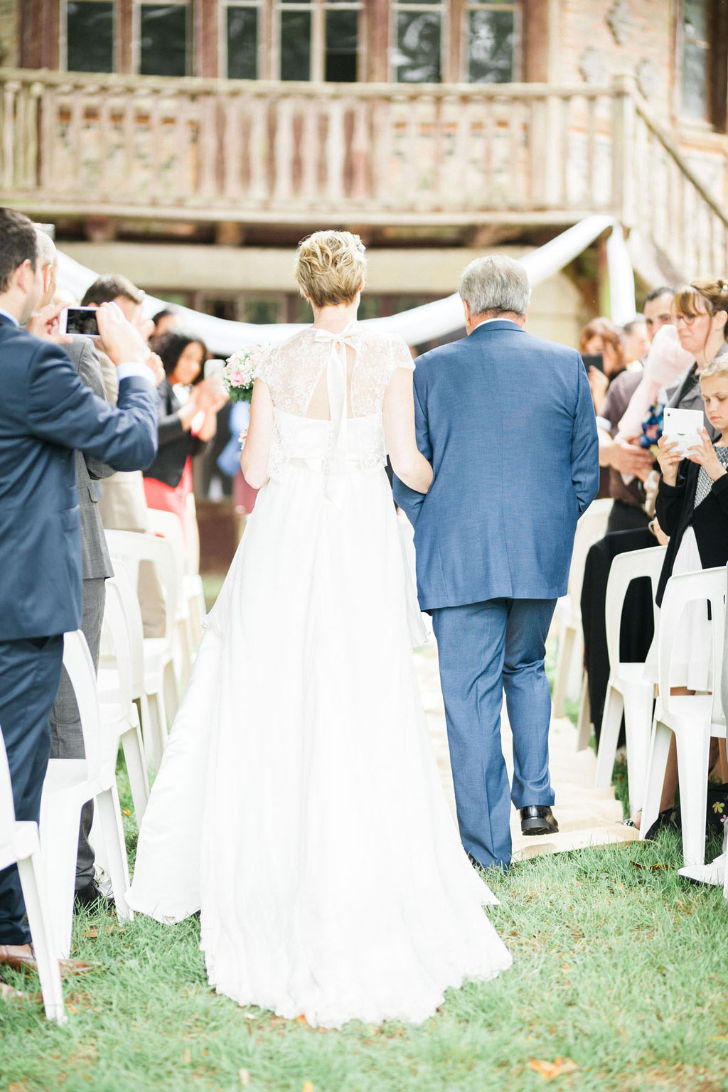 mariage  cérémonie laïque château cop-choux  mouzeil photographe orlane boisard cérémonie laique
