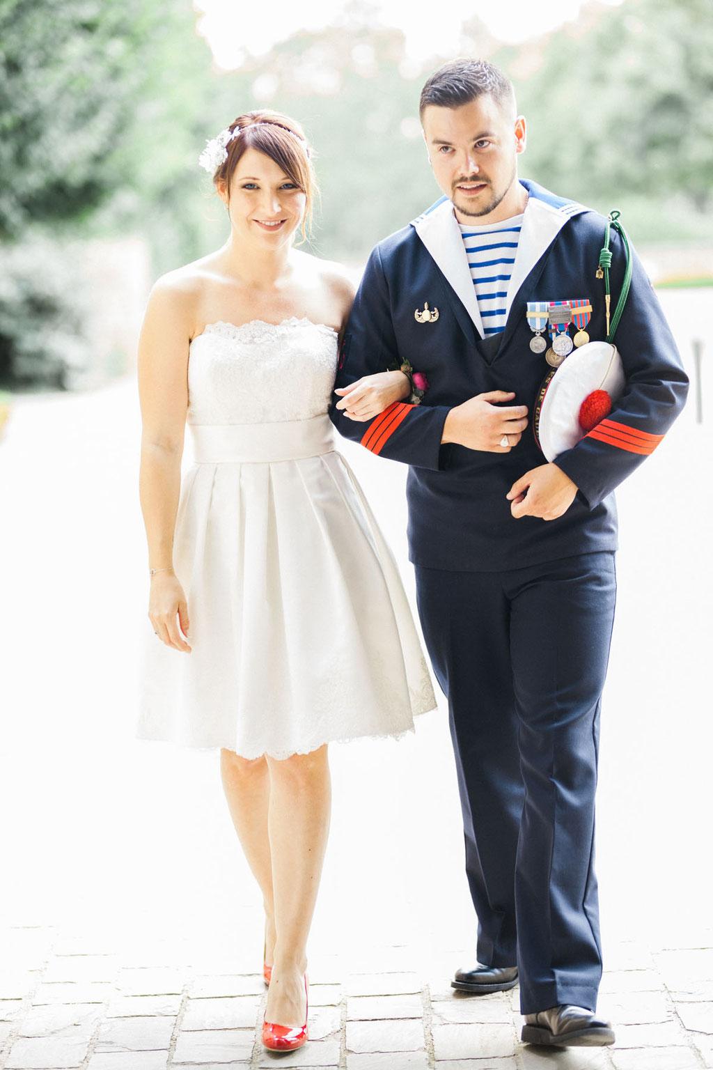 Manoir de la fresynaye mariage Bretagne Orlane Boisard couple entrée