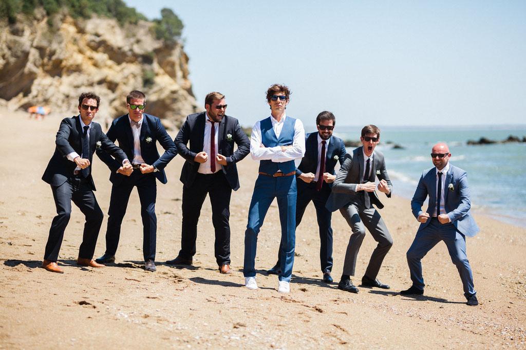 plage de monsieur hulot pornic photographe mariage Orlane Boisard orlane-photos.com