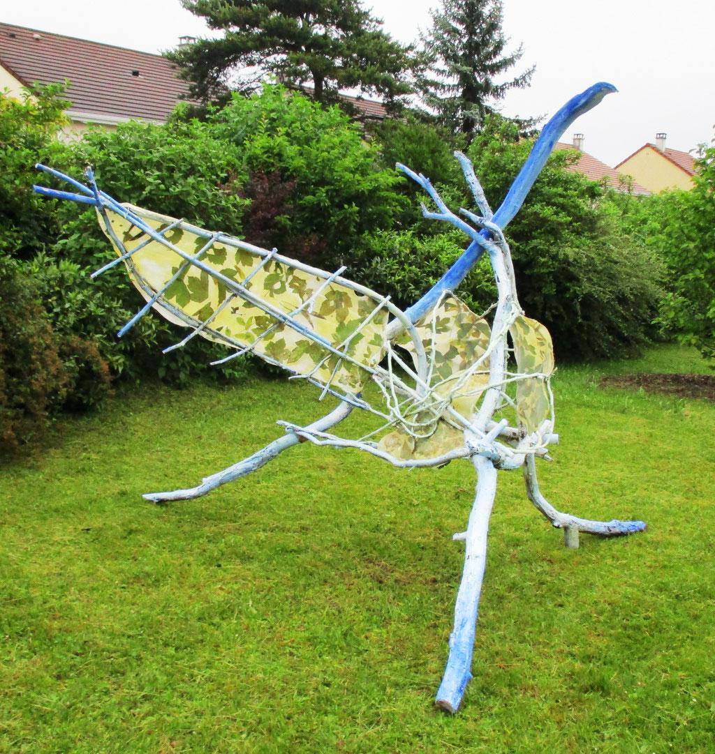 """Oiseau"" - Roman Gorski, maternelle l'Allée couverte, Vaureal"