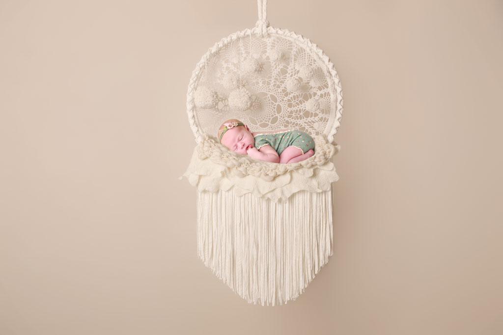 Neugeborene - Farbspiel-Fotografie