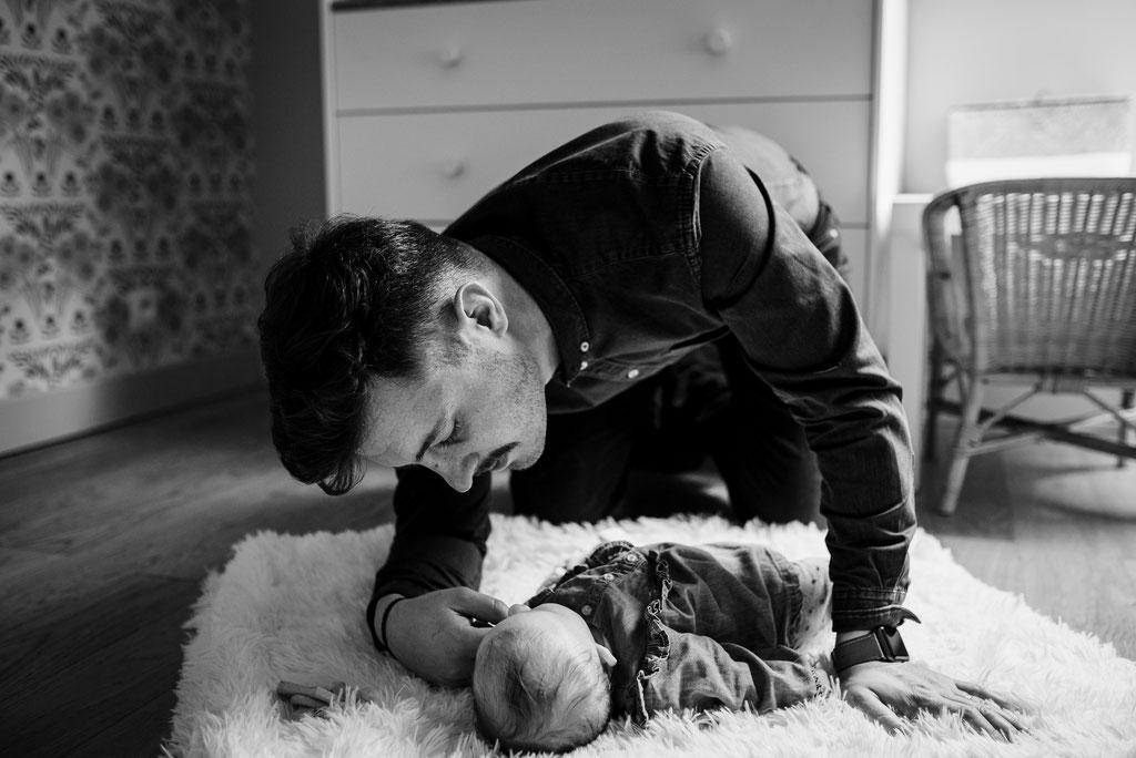 Photographe naissance domicile Rouen
