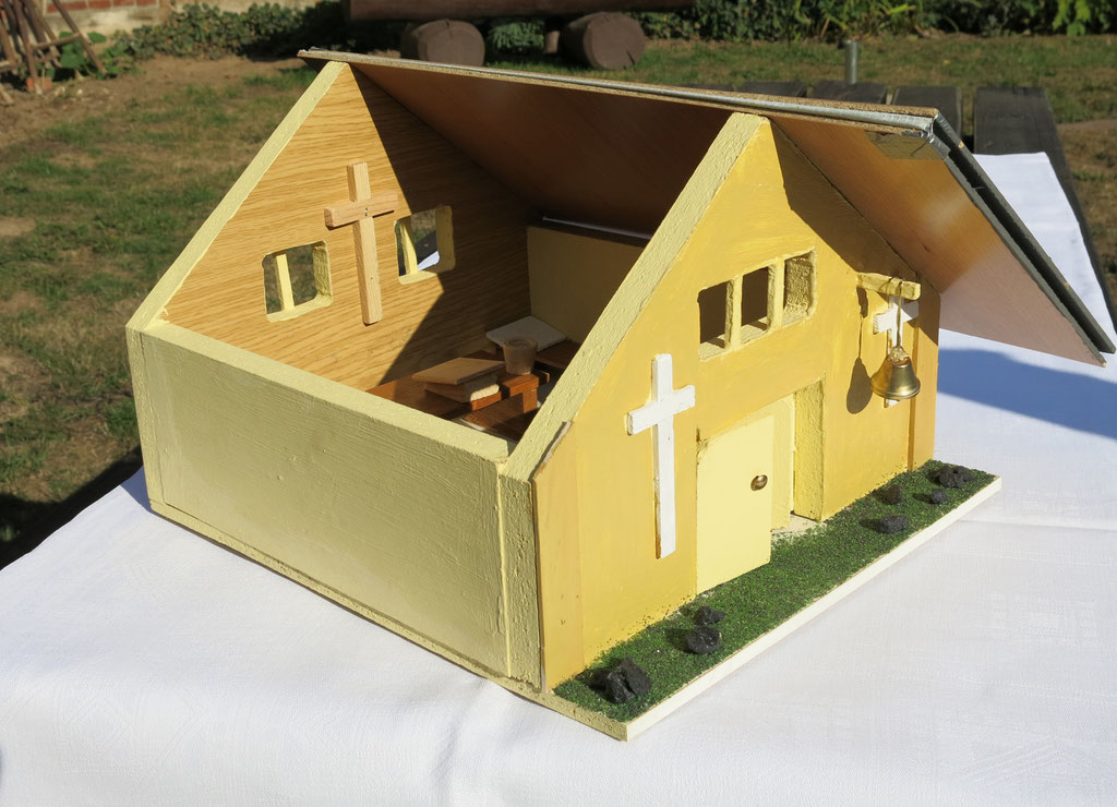 So etwa könnte die mittelalterliche Kapelle ausgesehen haben