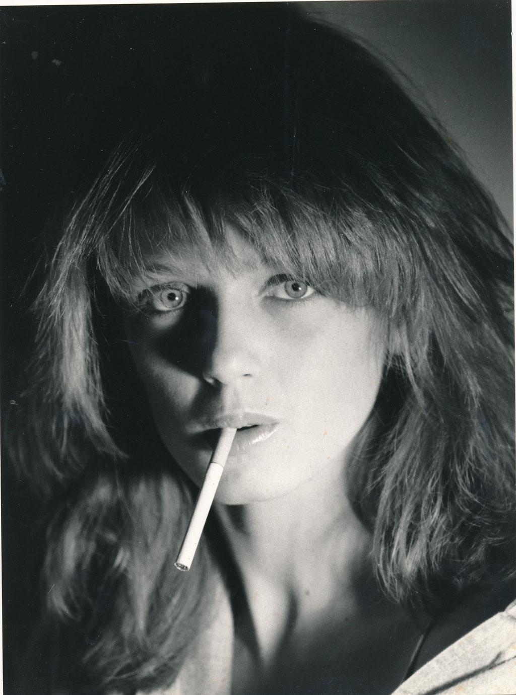 femme à la cigarette photographie