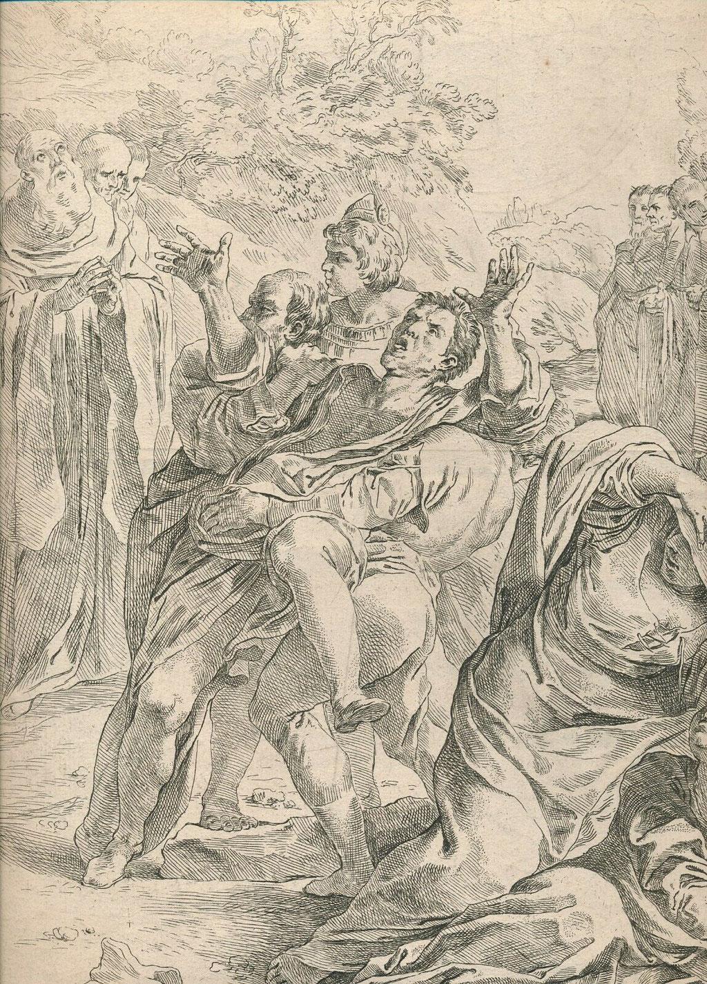 Simone Cantarini, gravure