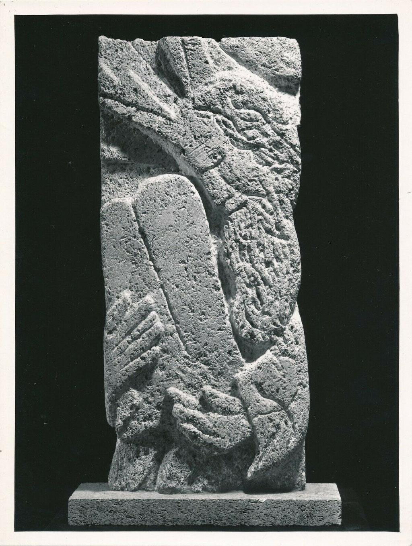 photographie de la sculpture de Mac Chagall Moïse n° 2