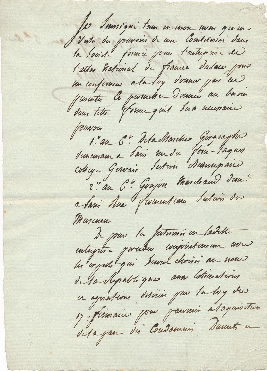 Pierre-Gilles CHANLAIRE (1758-1817) géographe Atlas national révolution