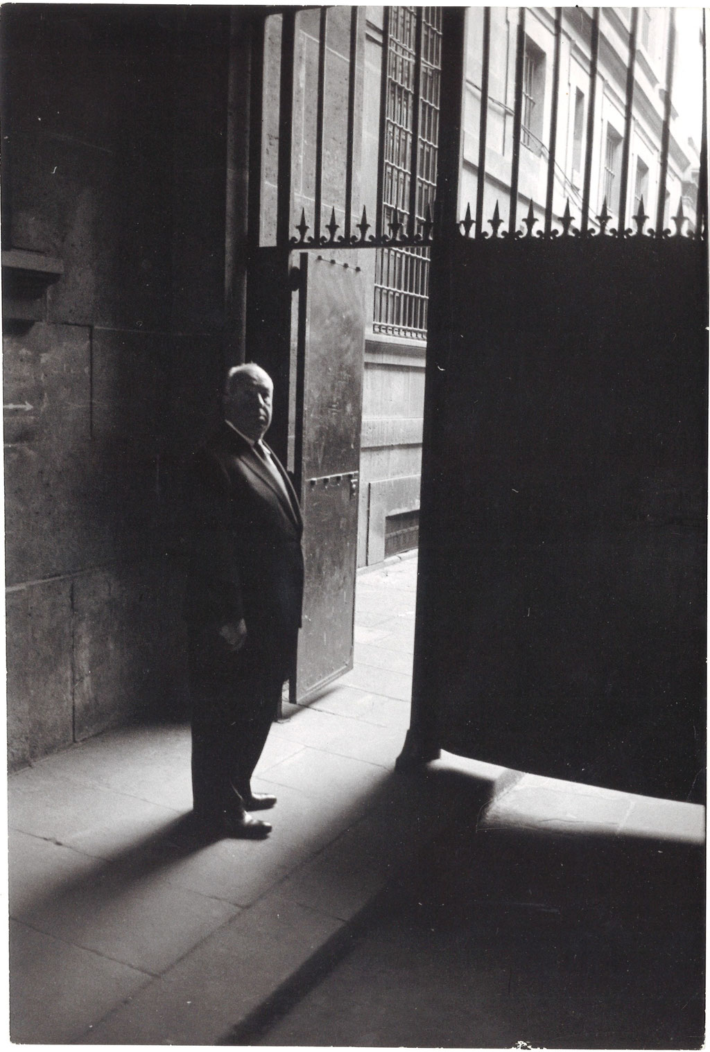 Alfred Hitchcock photographie photo photographie époque tirage argentique