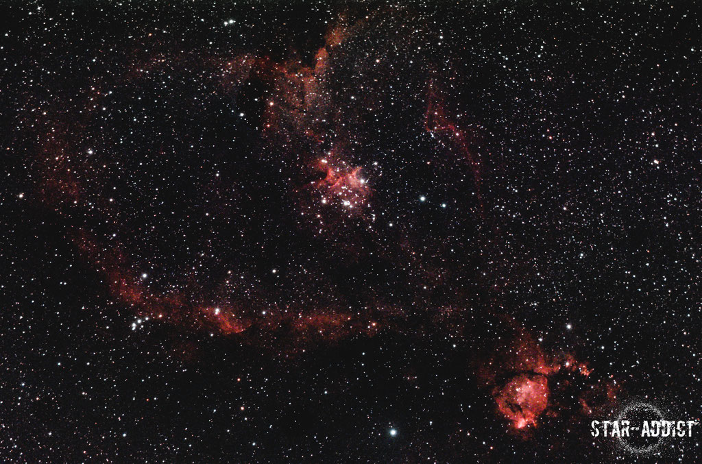 IC1805 - Heart & Soul Nebula