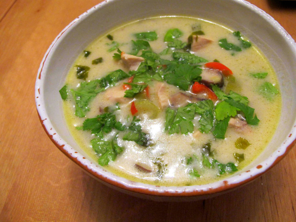 fertige Tom Kha Gai - 100% real Food