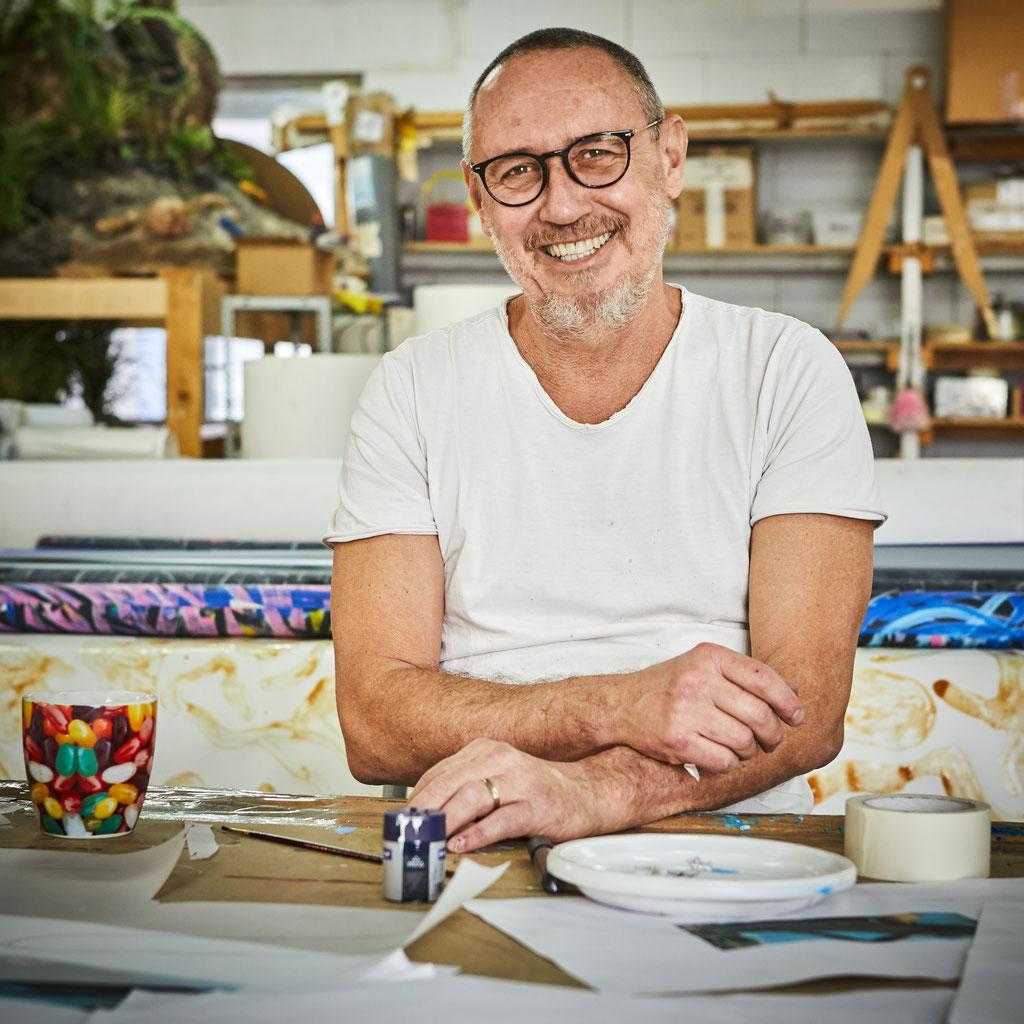 Gilles Barbier, Artiste © Jeanchristophe Lett