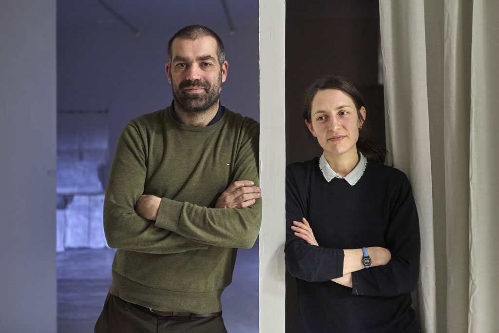 Nicolas Daubane et Pauline Bastard, Artistes © Jeanchristophe Lett