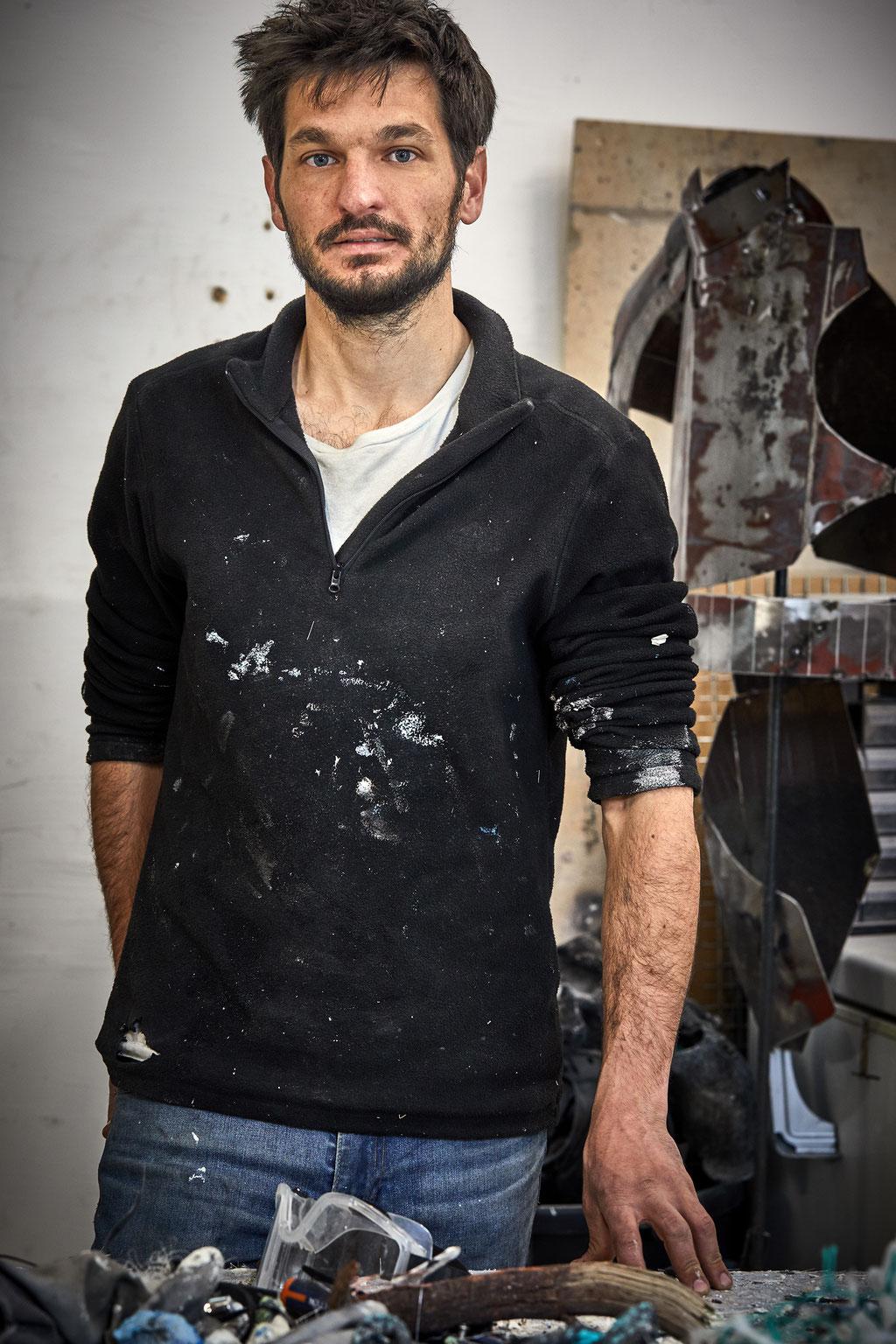 Ugo Schiavi, Artiste © Jeanchristophe Lett