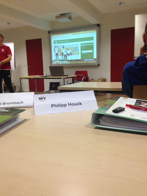 In Barsinghausen hat Philipp seine Trainer C-Lizenz Breitensport gemacht
