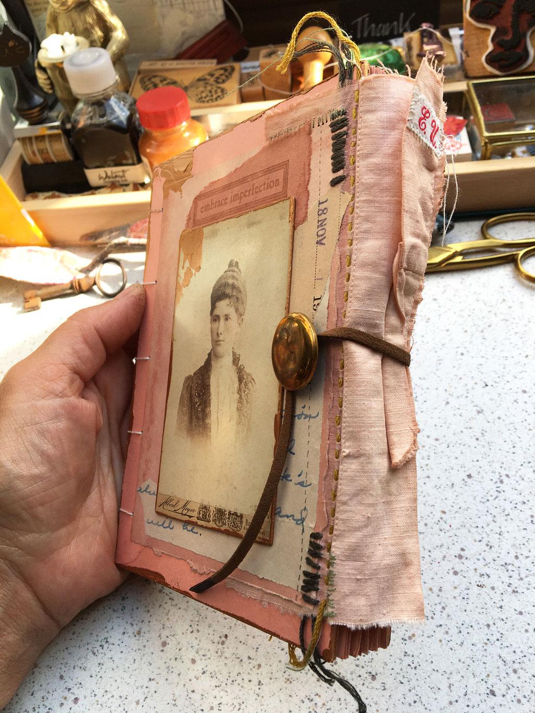 Notizbuch Kunst Handarbeit