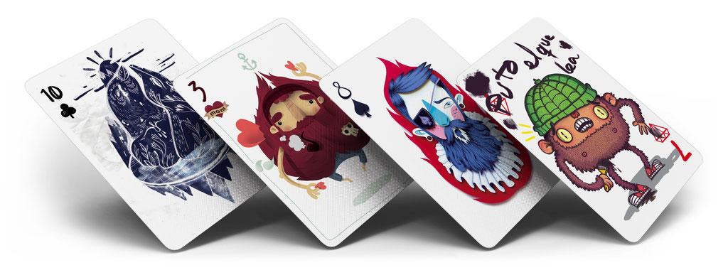 Auswahl Spielkarten (52Aces)