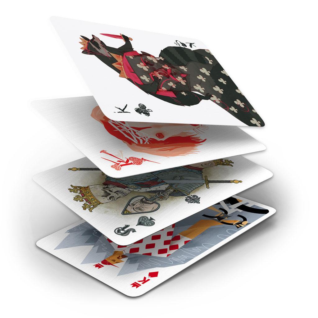 Pokerspiel Könige (52Aces)