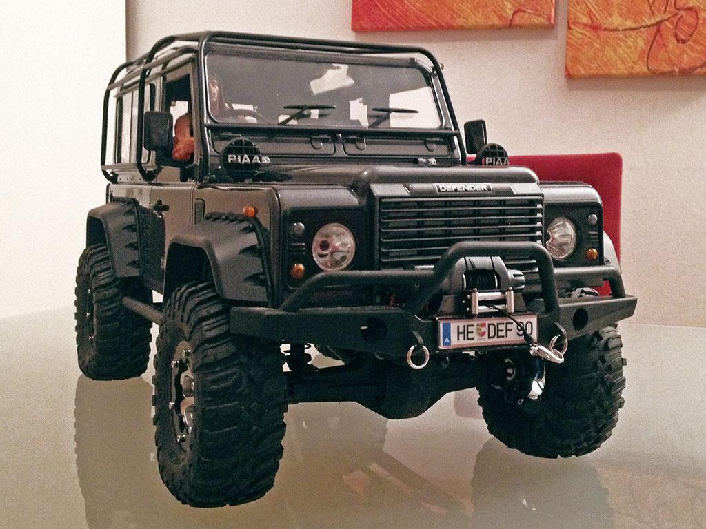 Nobel-Hobel  |  Bernds zweiter Land Rover Defender