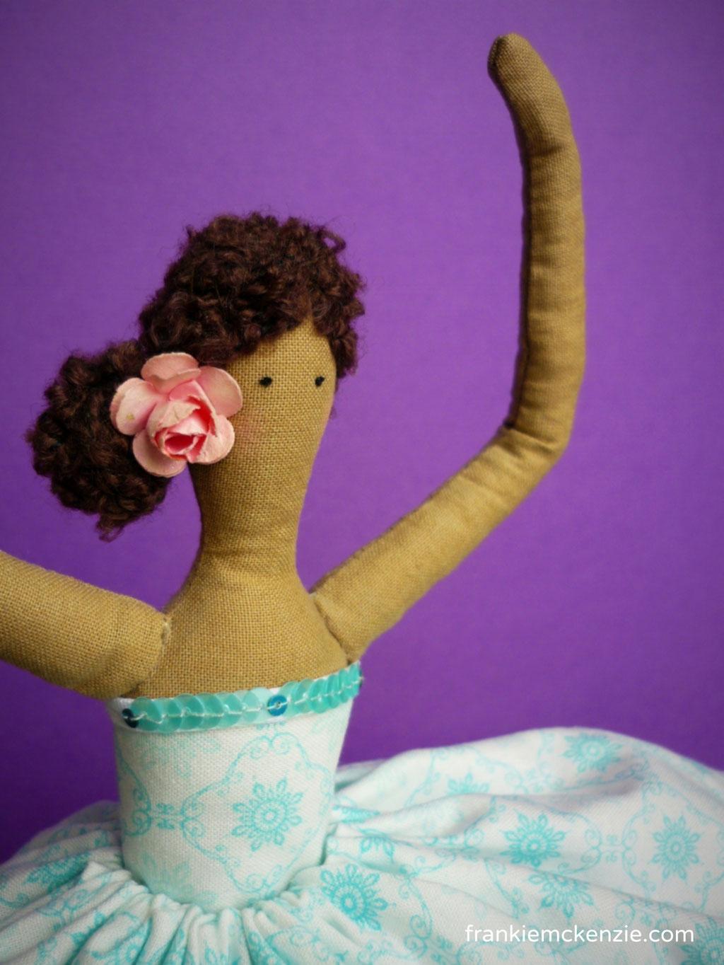 Little Ballerina Tilda doll