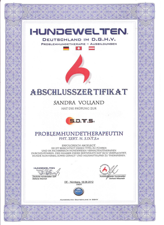 Problemhundetherapeutin Sandra Volland Nürnberg