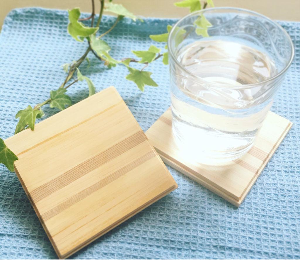 木製木コースター