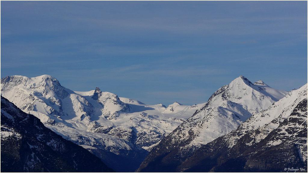 Breithorn,klein Matterhorn,Testa Grigia
