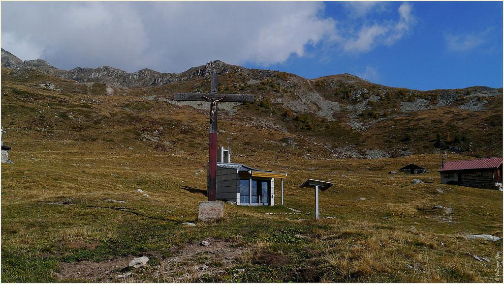 Kapelle St. Wendelin Obere Feselalpe 04.10.2014