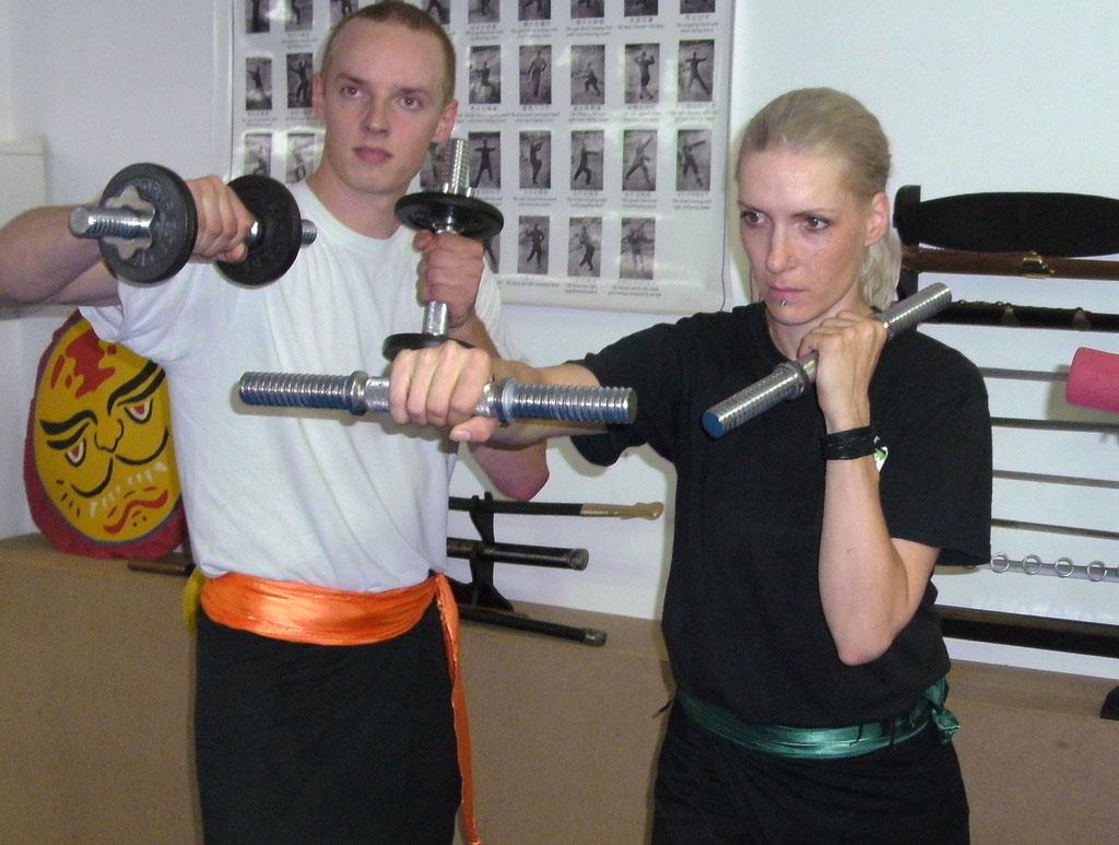 Kung Fu als Fitnesstraining