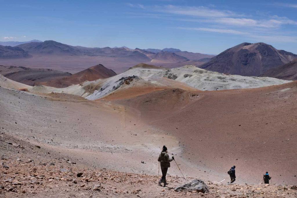 Cerro Toco Vulkan Besteigung 5.604m