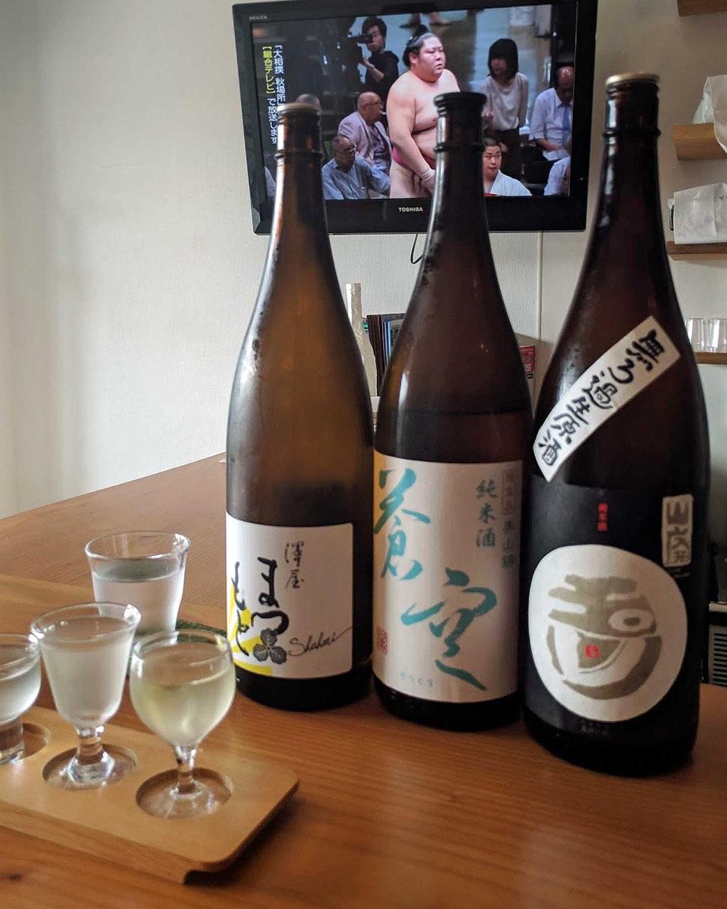 Tipp Kyoto Jam & Sake Bar Sake Tasting