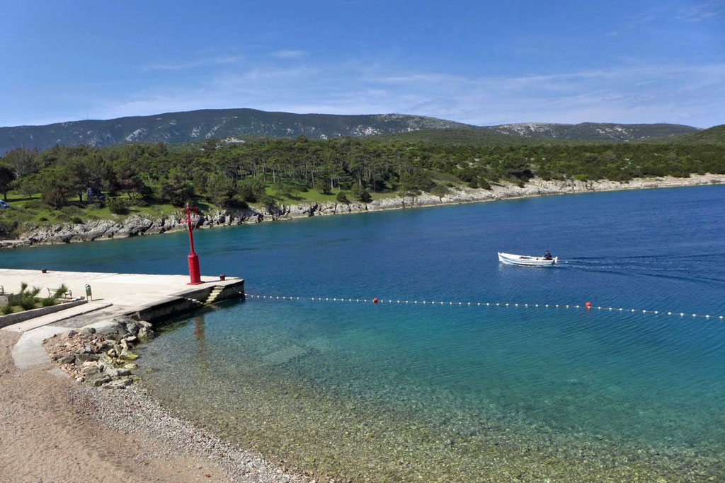 Camping bei Osor Cres