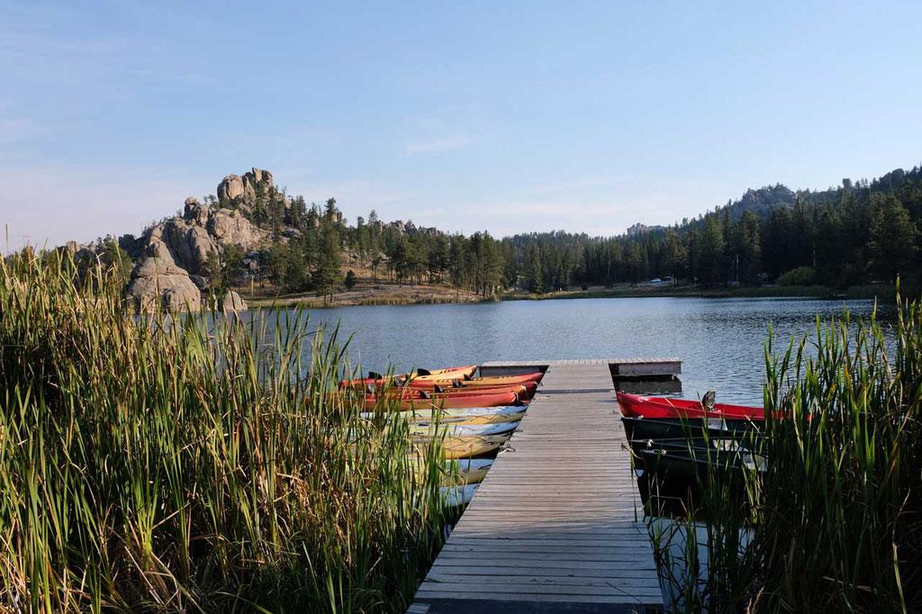 Idyllischer Sylvan Lake