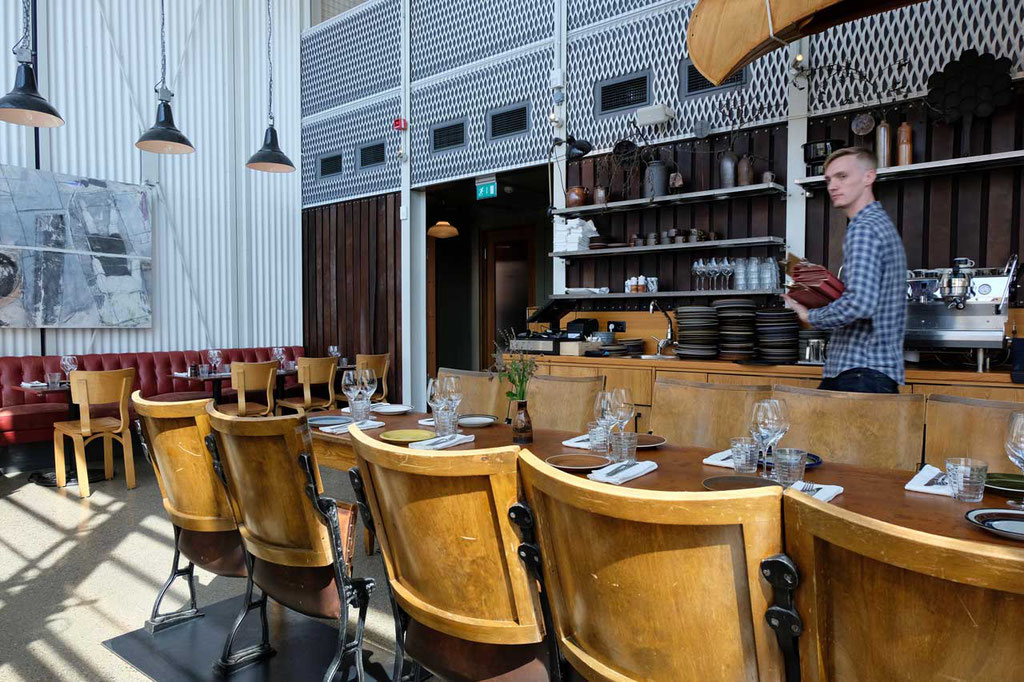 Retro Design Restaurant Oaxen Slip Stockholm