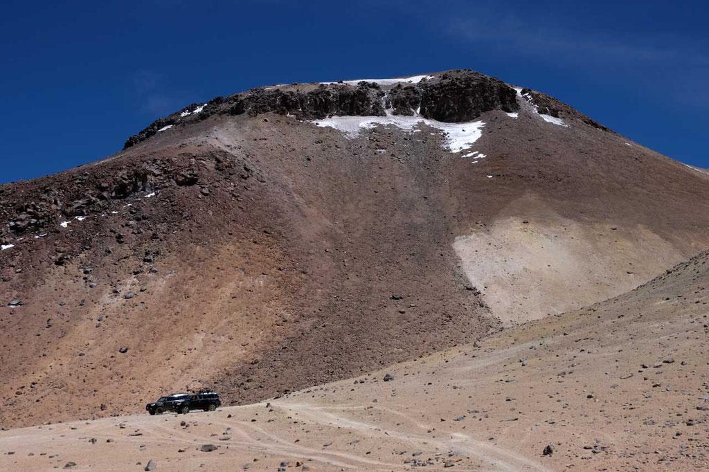 Auf 5200m beginnt der Cerro Toco Aufstieg