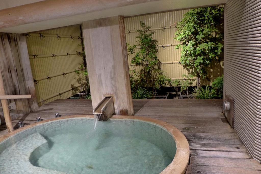 Privat-Onsen für Paare im Hotel Musashi Shirahama Japan