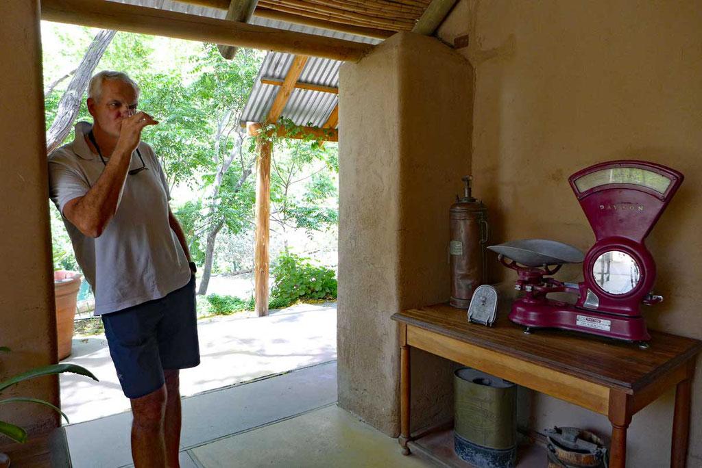 Weinverkostung Cavas Del Valle, Elqui-Tal
