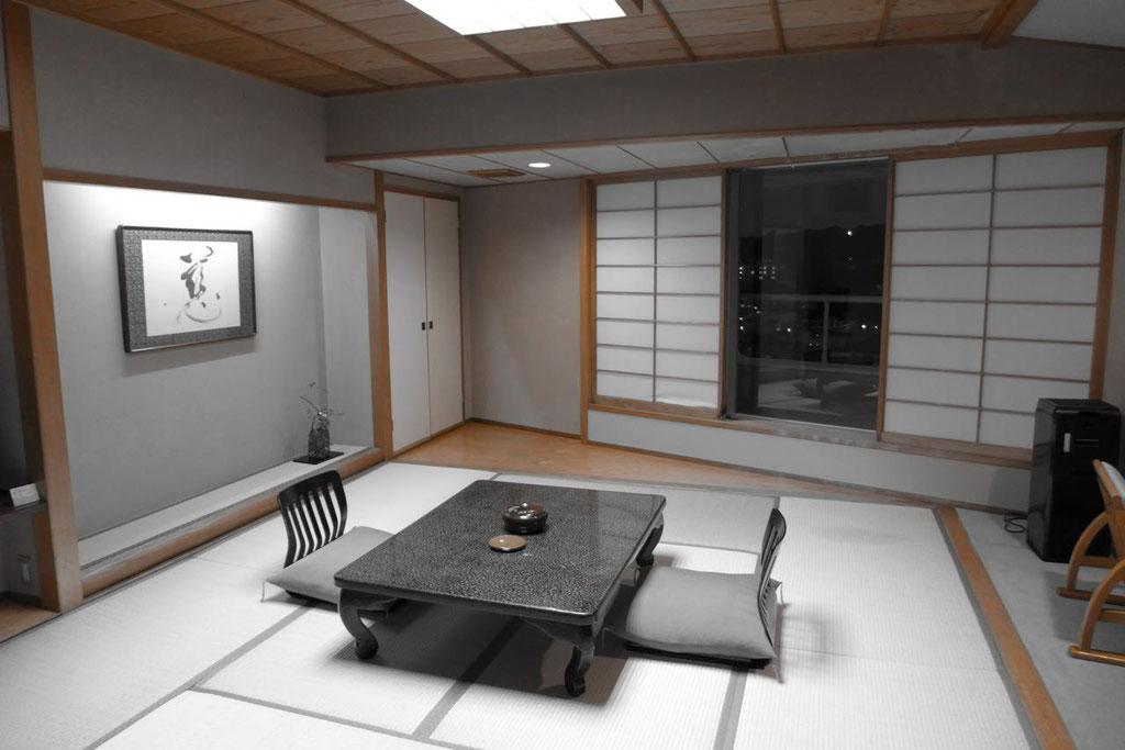 Japanisches Zimmer im Hotel Musashi,  Shirahama Japan
