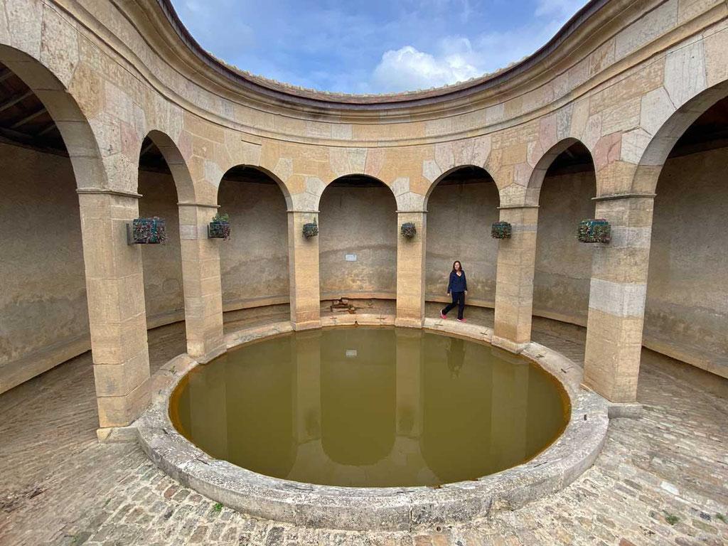 Fixin 'Lavoir' Waschhaus von 1827