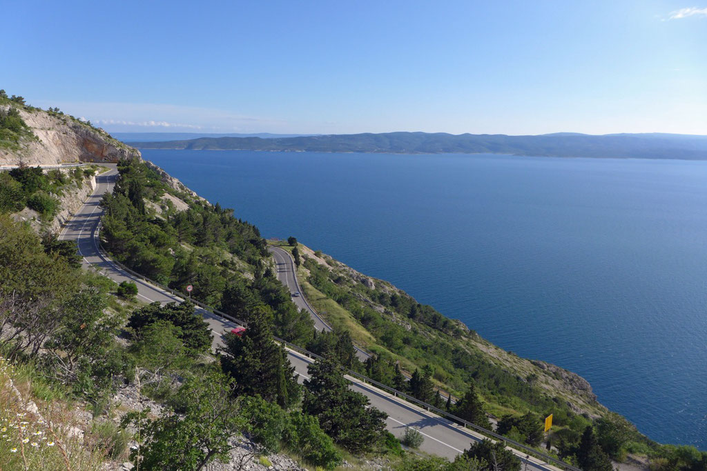 Schnöne Anreise nach Omis, Kroatien