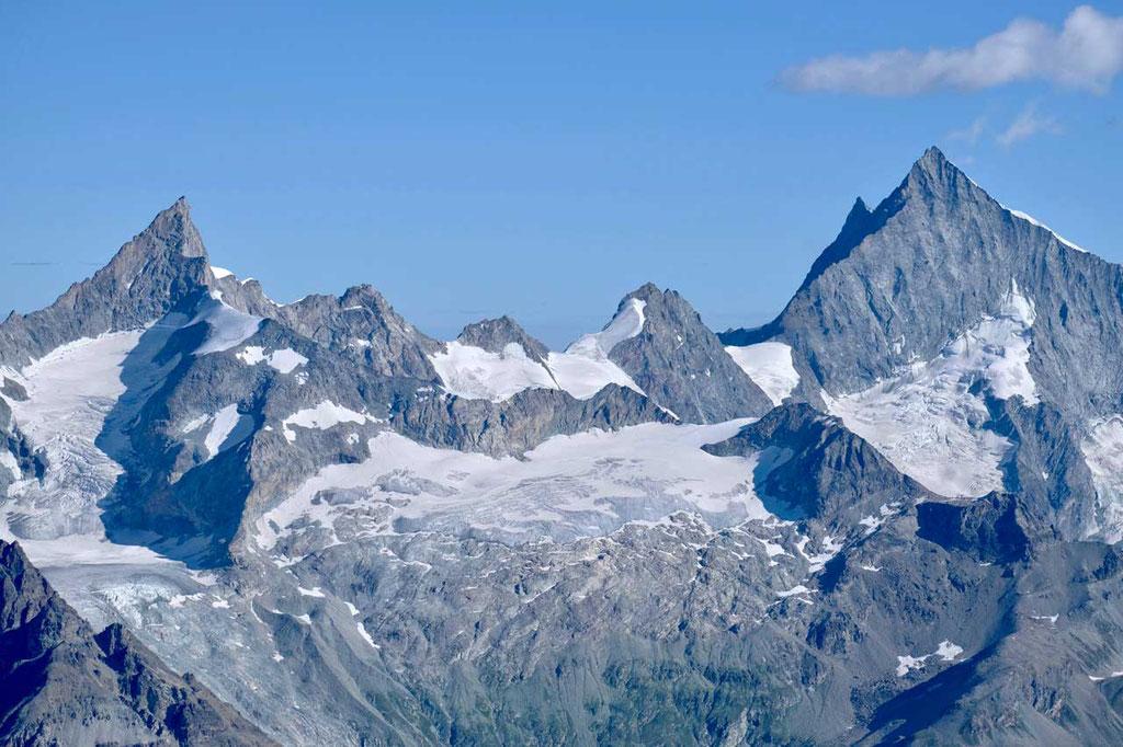 Breithorn vom Kleinen Matterhorn