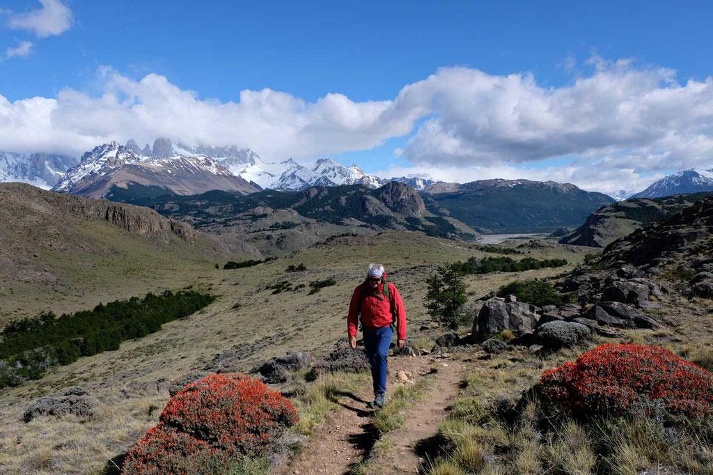 Wanderweg zum  Mirador de los Aguilas