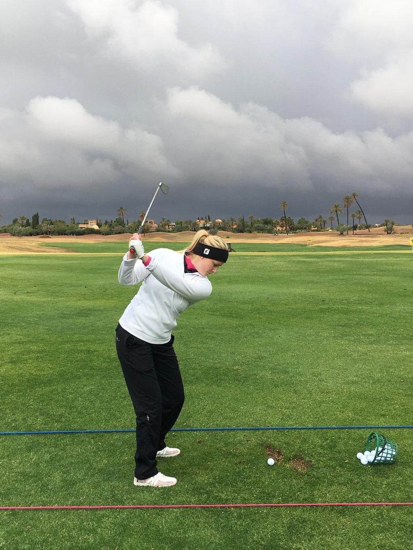 Seit 2017 ist Luisa auf der europäischen Bühne unterwegs. Deutschland- und Europaweit finden die Turniere statt, bei denen Luisa als eine der besten deutschen Golfprofis teilnimmt.