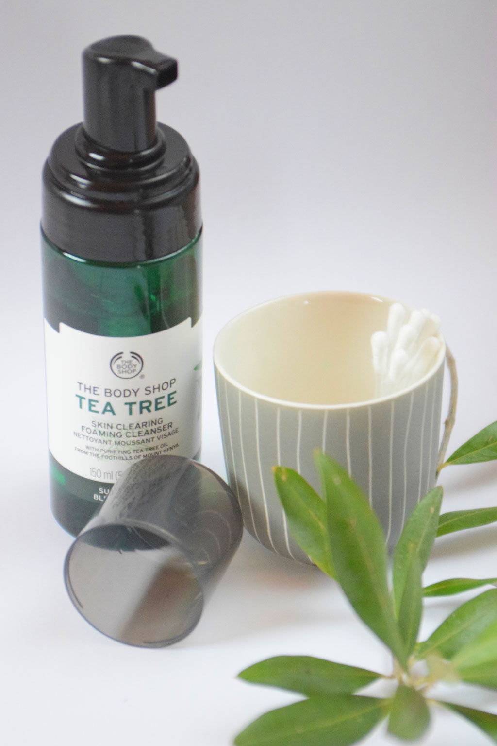 The Body Shop Tee Tea Oil-Serie gegen unreine Haut