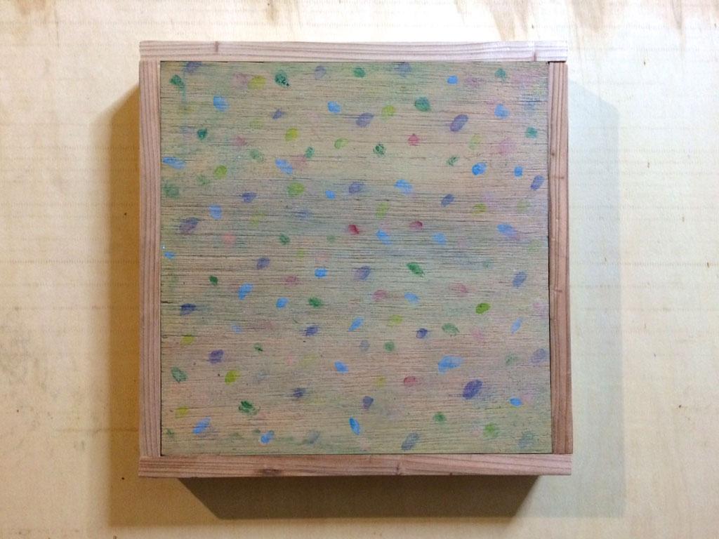 「雲を掴む」/2015 300×300(¥20,000)