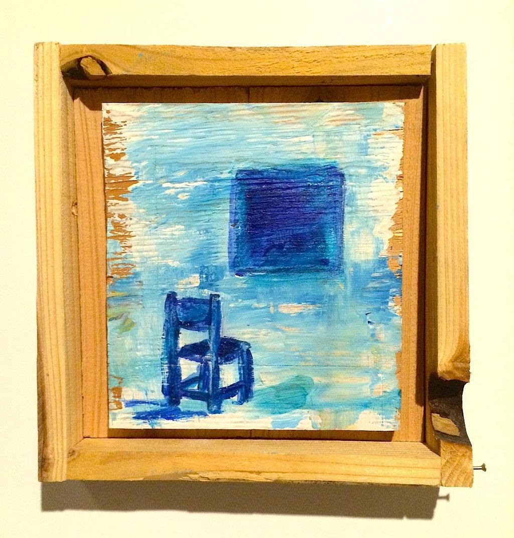 「青い部屋と小窓」/2014 250×250(¥12,000)