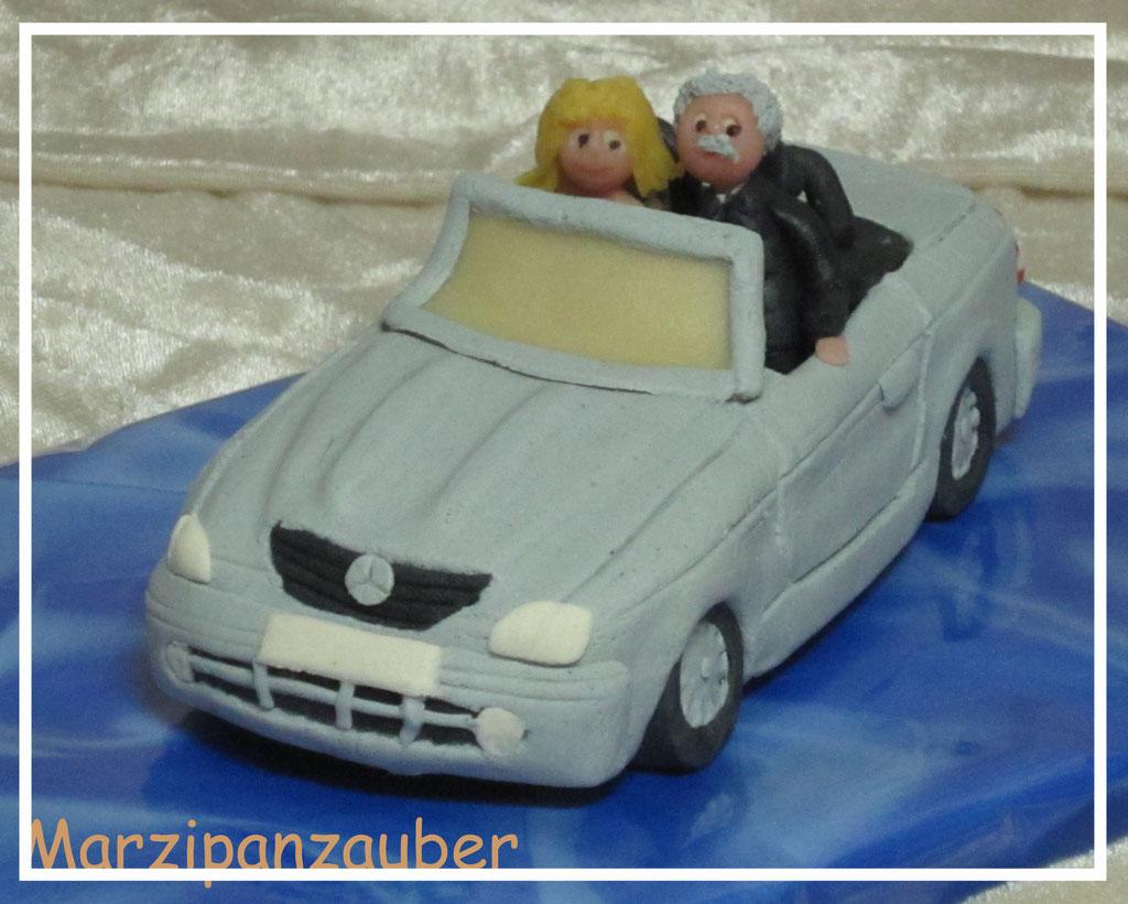 """Marzipanauto """"Mercedes Cabrio"""""""