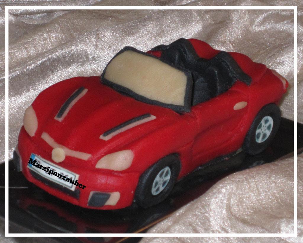 "Marzipanauto ""Opel GT"" rot"