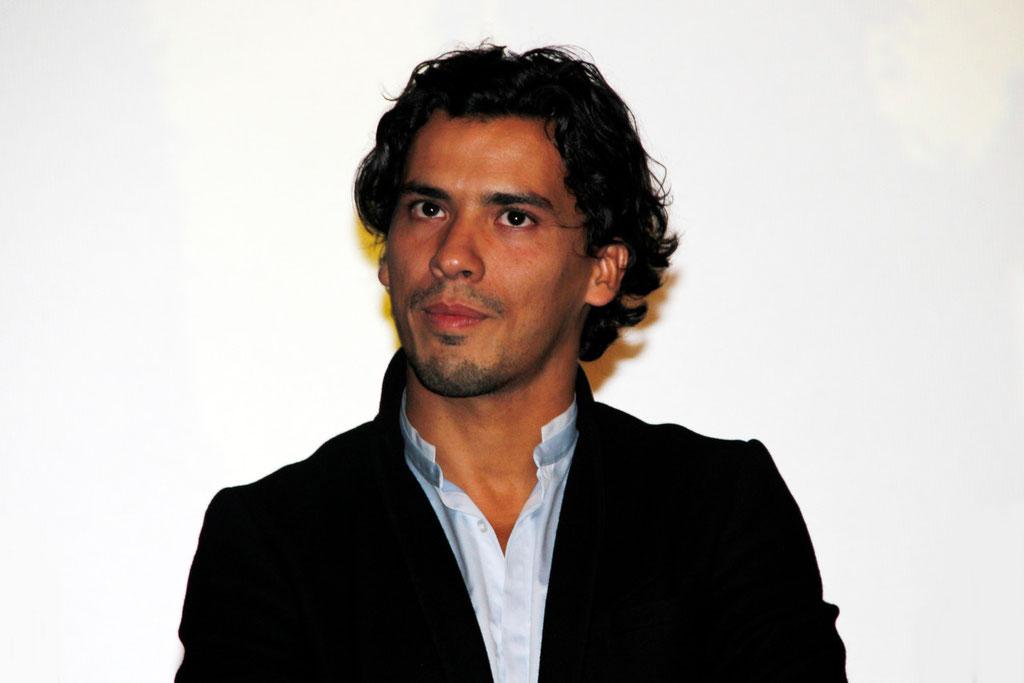 """Tewfik Jallab, lors de l'avant-Première du film """"La Marche""""  Lyon - 5 Novembre 2013 - Photo © Anik COUBLE"""