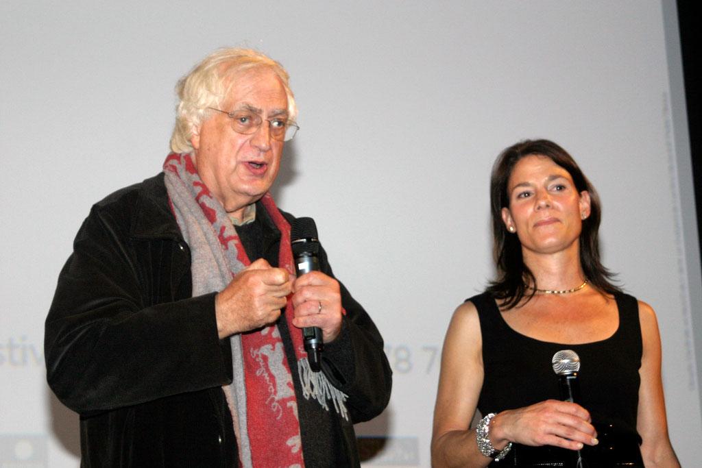 Bertand Tavernier et Katherine Quinn - Festival Lumière 2010 - Lyon - Photo © Anik COUBLE